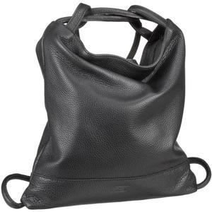 Jost Vika Handtaschen Rucksack Leder schwarz