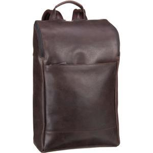 Jost Daypack / Rucksack - Narvik Farbe: brown Leder