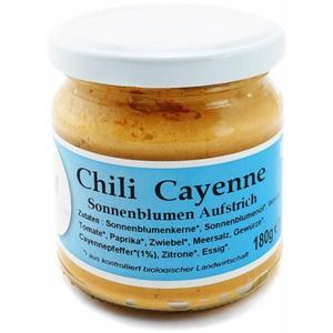 Bio Chili Cayenne Aufstrich aus Wien
