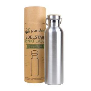 Pandoo Edelstahl Trinkflasche isoliert