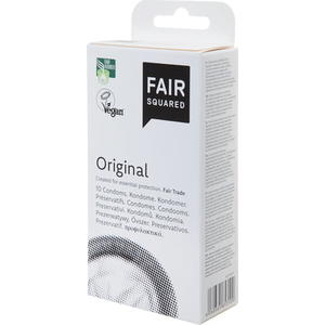 "Fair Squared Kondom ""Original"", 10 Stk"