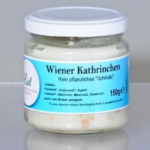 Wiener Kathrinchen veganes Bio-Schmalz aus Wien