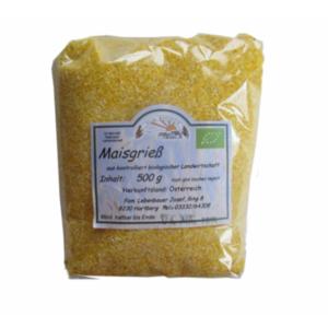 Bio Maisgrieß Vollkorn (Polenta), DOPPELPACK 2 x 500 g