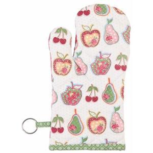 Ofenhandschuh Apfel Birne