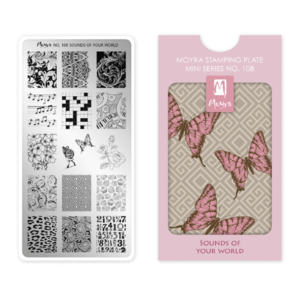 Stamping Platte MINI - Sounds Of Your World Nr.108