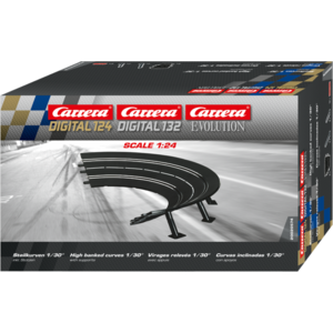 Carrera Digital 132/124 - Steilkurven 1/30° (6) - 20574