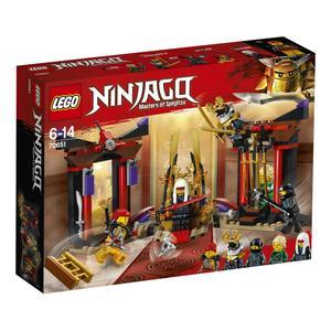 Ninjago - Duell im Thronsaal - 70651