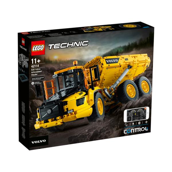 LEGO® Technic - Knickgelenkter Volvo-Dumper (6x6) - 42114