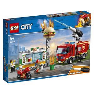 LEGO® City - Feuerwehreinsatz im Burger-Restaurant - 60214