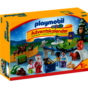 """Playmobil - 1.2.3 Adventskalender """"Waldweihnacht der Tiere"""" - 9391"""