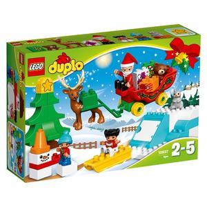 Lego Duplo - Winterspaß mit dem Weihnachtsmann - 10837*