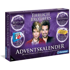 Ehrlich Brothers Adventskalender der Magie - Clementoni