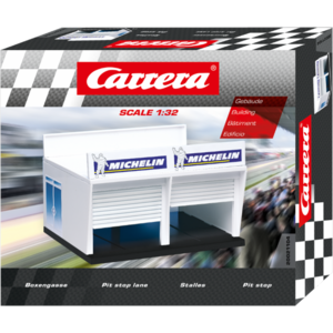 Carrera Digital 132/124 - Boxengasse - 21104