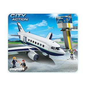 Playmobil City Action - Cargo- und Passagierflugzeug - 5261
