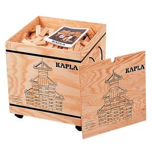 Kapla Bausteine Kasten aus Holz mit 1000 Teilen