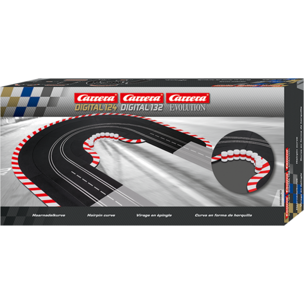 Carrera Digital 132/124 - Haarnadelkurve - 20613