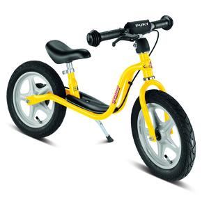 Puky – Laufrad LR1 mit Bremse, Ständer und Luftbereifung, gelb – 4040