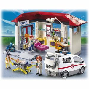 Playmobil City Life - Ambulanz mit Notarzt-PKW - 5012