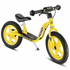 Puky - Laufrad LR 1 gelb mit Bremse, Ständer und Luftbereifung - 4034