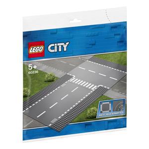 LEGO® City - Gerade und T-Kreuzung - 60236