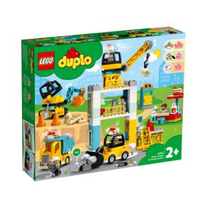 LEGO® DUPLO® - Große Baustelle mit Licht und Ton - 10933