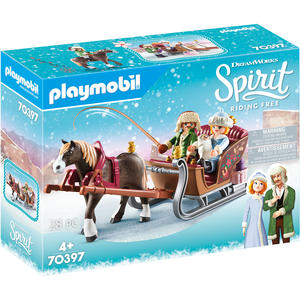 PLAYMOBIL® Spirit - Riding Free - Winterliche Schlittenfahrt - 70397