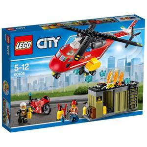 Lego City - Feuerwehr-Löscheinheit - 60108