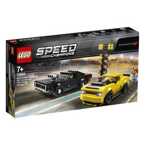 LEGO® Speed Champions - 2018 Dodge Challenger SRT Demon und 1970 Dodge Charger R/T - 75893